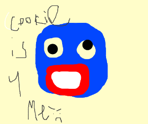 Mlg Cookie Monster Drawing By Kateylovecat Drawception