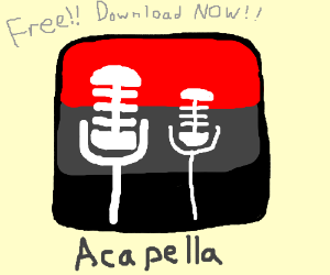 Download the FREE AcapellaApp NOW!!