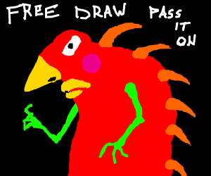 It's that time again............FREE DRAW PIO!