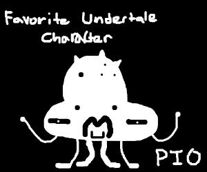Favorite undertale chracter (Pass it on) (Tem)