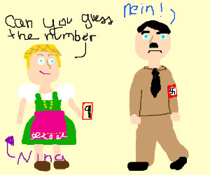 Numbric Nazi tells Nina her Number is Nine