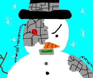 A Cyborg-Snowman