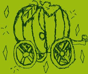 Magical pumpkin carriage