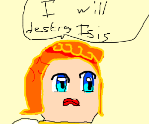 Linda says she will destroy Isis