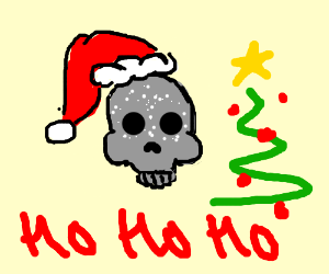 Dead emoji Holiday time