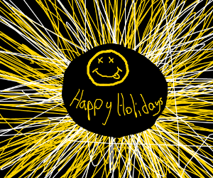 wishing you ALL the happy holidays