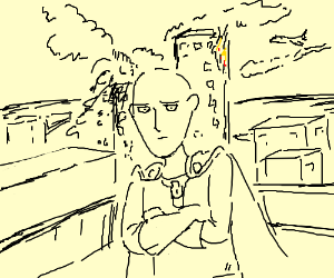 One punch man did 9/11