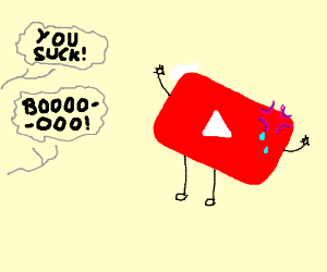YouTube gets a taste of protest.