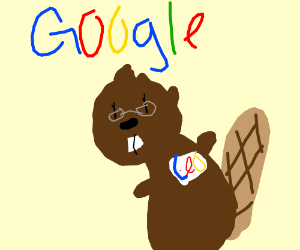 Google's CEO is a beaver