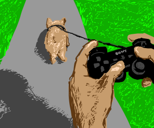 Walking The Virtual Dog For PS3