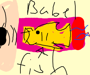 """Babelfish knows """"fish"""" in all the languages"""