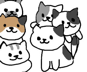 Cats in cats and cats on cats