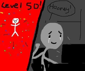 whoo level 50 congrats!