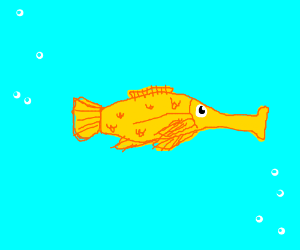 that one ear fish thing from hitchhiker guide
