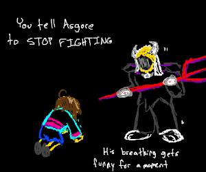 agore fight(Undertail) - Drawception