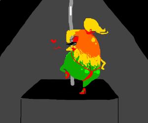 Seductive Mango Stripper