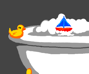 Rubber Duck ignored for new bath toy