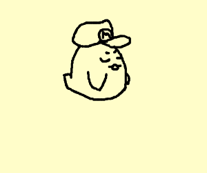Boo (ghost) steals Mario's cap