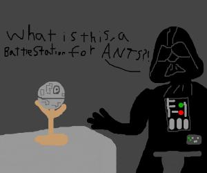 Death Star prototype is... underwhelming.