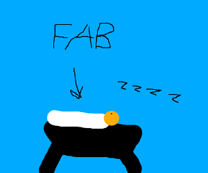 Sleeping Jesus is fab