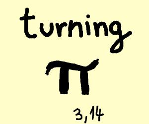 Turning pie