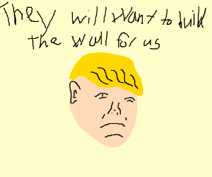 Racist joke? Donald Trump