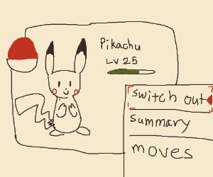 I choose you, Pikachu!