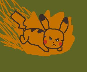 Pikachu used Volt Tackle