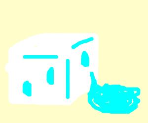 ICE CUBE BE MELTING