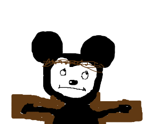 Our lord and savior Mickey Mouse