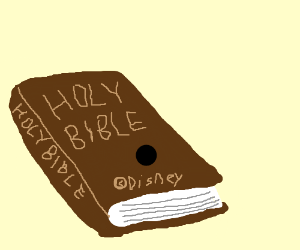 Disney has acquired the rights to the Bible