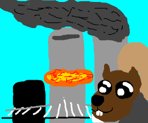 9/11, but with SQUIRRELS