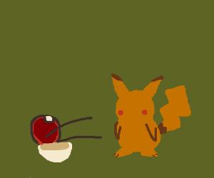 Pikachu I choose you