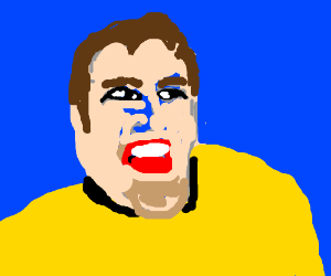 Captain Kirk doesn't like hearing the word No.