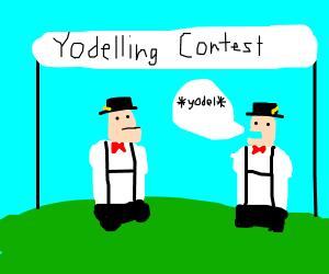 Quadruple Amputee Yodelling Contest