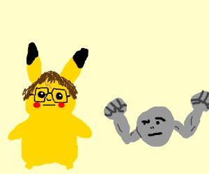 Harry Potter & Voldemort as Pokemon