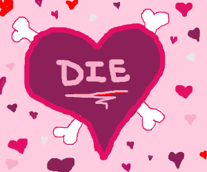 I hate Valentine's Day.