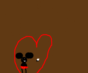 Mickey sure loves flies