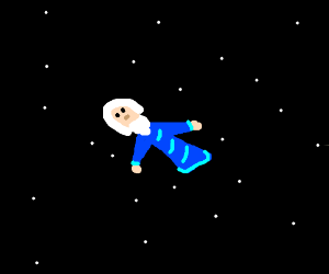 wise man in space