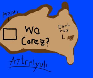 A bad map of Australia