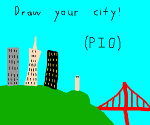 Draw your city, pass it on