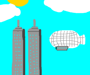 What if a Zeppelin had been used for 9/11?