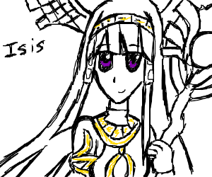 The godess Isis