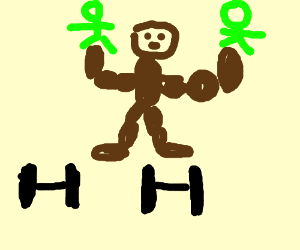 strongman uses twins as dumbells
