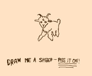 Draw Me A Sheep Pio