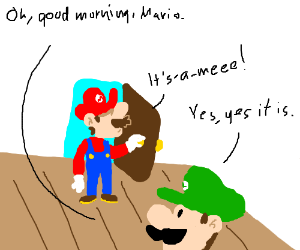 Good Morning, Mario