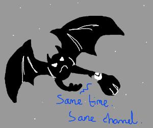 Same Bat time, Same Bat channel