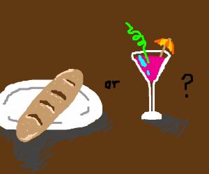 Bread or fancy drink?