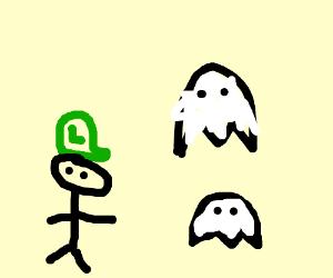 Luigi's haunted mansion