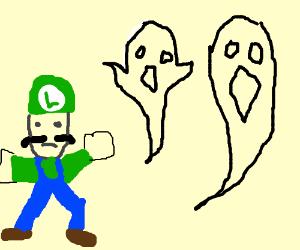 luigi and ghosts